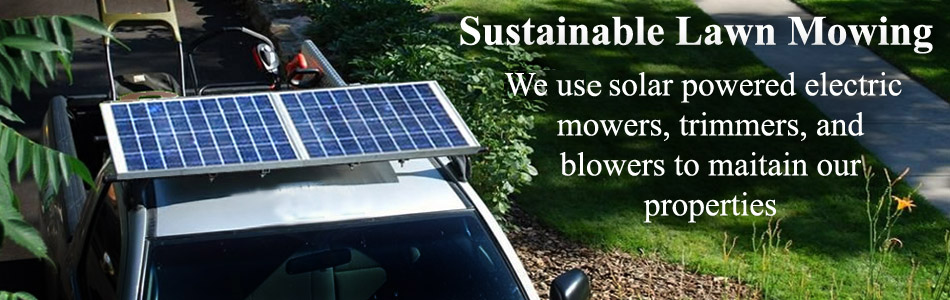 Solar Powered Mowing Equipment